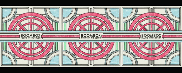"Get BoomBox's new album, ""Filling in the Color"""