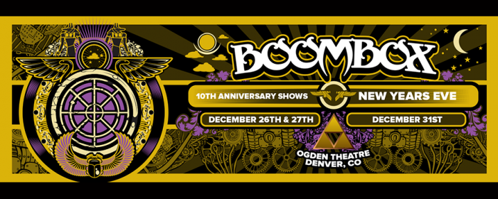 BoomBox 10th Anniversary & New Years Eve!