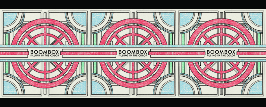 """Get BoomBox's new album, """"Filling in the Color"""""""
