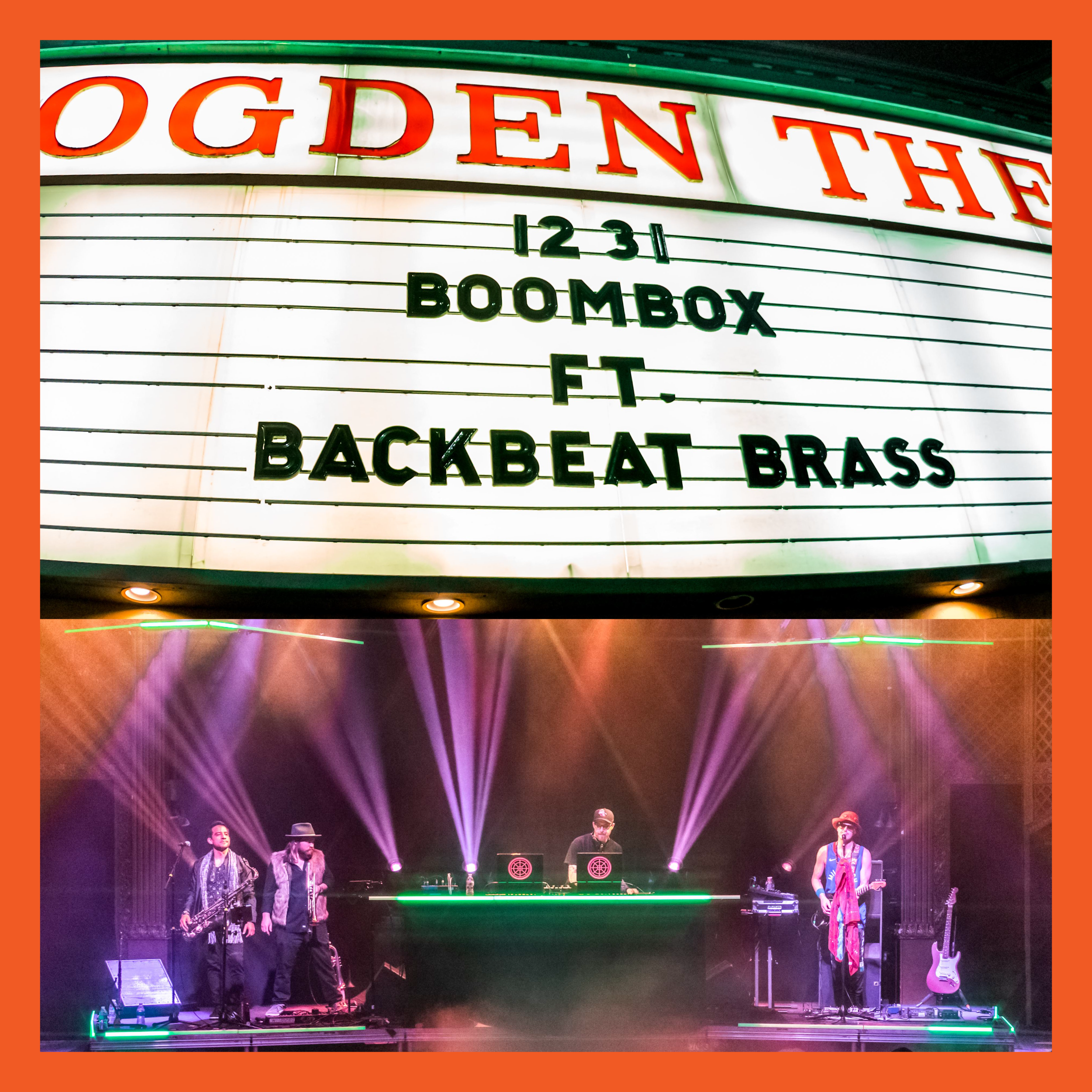 NEW LIVE ALBUM FEAT. BACKBEAT BRASS